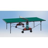 Tischtennisplatte in grün oder blau