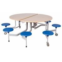 Spaceflex 2.0®, runde Melaminplatte, 12 Sitze, für Kinder ab 11 Jahre