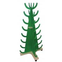 Stiefeltanne, lackiertes Birkesperrholz