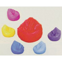 Relaxsack in 6 verschiedenen Farben (blau, hellblau, lila, pink, gelb, rot)