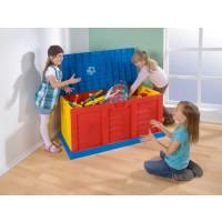 Kunterbunte Riesenkiste - super geeignet für Bälle, Pausenspiele, Sportartikel,…