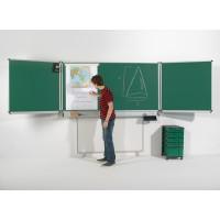 Die Tafeln sind höhenverstellbar. So ist jeder Schüler – ob groß oder klein – in der Lage, die Schreibfläche auf die für ihn perfekte Höhe einzustellen.