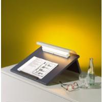 Tischrednerpult mit Beleuchtung, Abbildung Dekor Alpensee