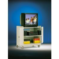 Die Abbildung zeigt TV-Wagen Modell TV 14 V, Dekor Weiß 10
