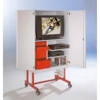 Die Schubladen sind ideal zur Aufbewahrung von Videokassetten, DVDs sowie CDs
