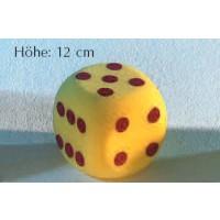 Schaumstoff-Augenwürfel, 12 cm hoch