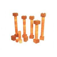 Säulensortiment, 21 Steine