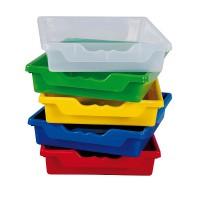 Unsere Ergo Tray Boxen sind aufeinander und ineinander stapelbar!