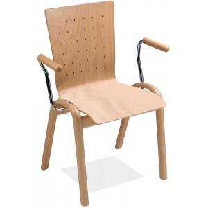 Holzstühle - ungepolstert