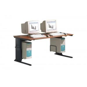 Computertisch CN III, C-Fuß-Objekttisch