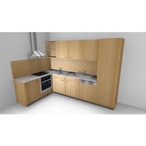 Küchen, 3D-Ansichten und Grundrisse