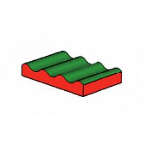 Viererwelle grün / rot