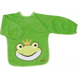 Lätzchen,  mit Frosch