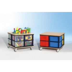 """Spielinsel A-Toll """"Mini"""", 8 InBox """"L"""", farbig oder Transparent"""