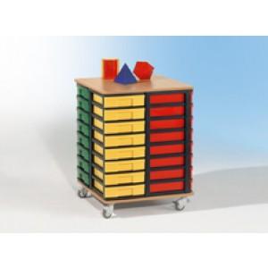"""Spielinsel, 32 InBox """"M"""", farbig oder transparent"""