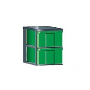 """InBox-Container mit 4 hohen Schüben in """"L"""""""
