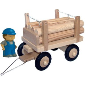 Anhänger für Langholztransporter
