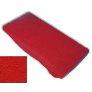 Kinderspannbettlaken (60 x 120 x 8 cm, rot)