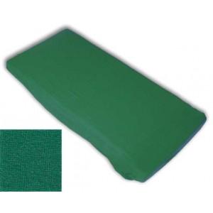 Kinderspannbettlaken (60 x 120 x 8 cm, grün)