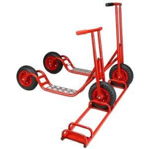 Roller-Set, mit Ständer