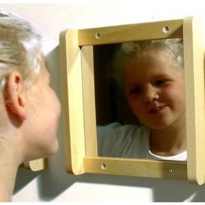 """Wandspiegel """"schöne Maid"""""""