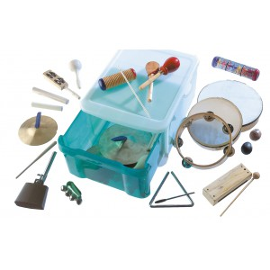 Klassenrhythmik-Set groß (30 Musikinstrumente)