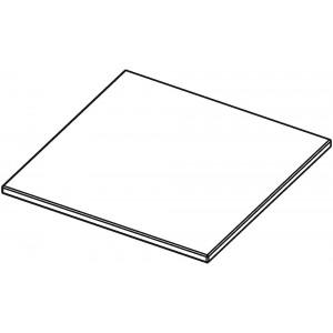 Tischplatte Quadrat, ohne Zarge