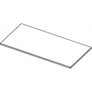 Tischplatte rechteckig, ohne Zarge