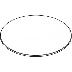 Tischplatte Rund, ohne Zarge