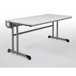 Computertisch SA III, C-Fuß-Objekttisch