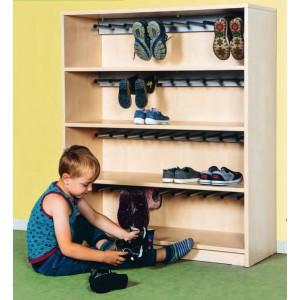 Stiefelregal für 20 Paar Schuhe