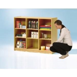 offenes regal 9 f cher. Black Bedroom Furniture Sets. Home Design Ideas