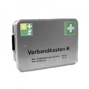Feuerwehr-Verbandkasten K Alu DIN 14 142 : 2005