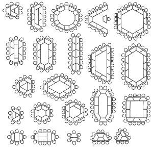 Stellvarianten - Tische