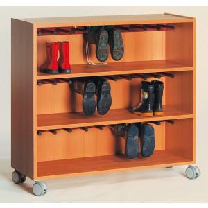 Stiefelwagen / Wagen für 15 Paar Schuhe