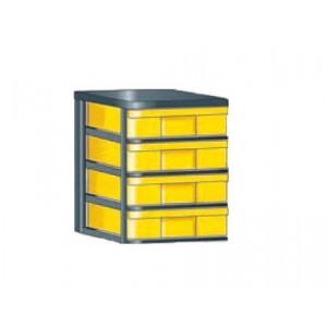 """InBox-Container mit 4 flachen Schüben in """"M"""""""