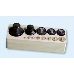 Gewichtssatz 1 (Holzblock)