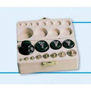 Gewichtssatz 3 (Holzkasten mit Deckel)