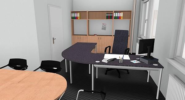3d Konstruktionszeichnungen Unserer Referenzen Fur Buro Und Verwaltung